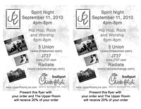 9.11.10 Chic-Fil-A fliers
